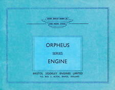 BRISTOL SIDDELEY ORPHEUS SERIES / PROVISIONAL / 1961