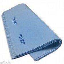 """Super Chamois 4 Pack 15"""" X 15 """"Super Absorbent Reusable Cleaning Cloth - Blue"""