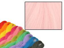 CYBERLOXSHOP PHANTASIA KANEKALON JUMBO BRAID FLOSS PINK HAIR DREADS
