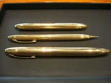 SHEAFFER PEN/PENCIL SET- PRE OWNED 14 KARAT GOLD PLATED GREAT CONDITION!