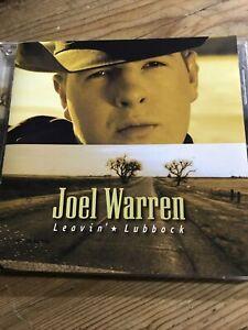 Joel Warren- Leavin' Lubbock Cd