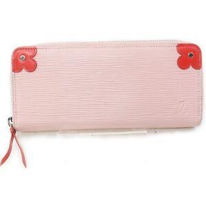 Louis Vuitton Zippy Wallet Portefeuille Cles Mance M62967 Pinks Epi 1513347