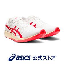 ASICS Running Shoes METARACER WHITE/SUNRISE RED