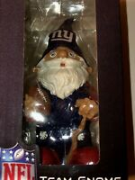 Forever Collectibles NFL Team Gnome 8 Inch Tall Figurine New York Giants NEW