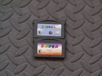 Lot Nintendo Game Boy Advance GBA Games Snood 2:  On Vacation + Snood