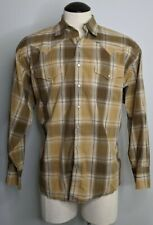 Resistol Mens Jarrett Plaid Snap Shirt
