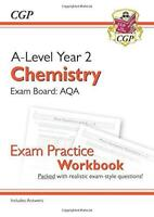 New A-Level Chemistry for 2018: AQA Year 2 Exam Practice Workbook - includes Ans