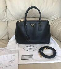 PRADA Galleria Medium Saffiano Lux Tote bag, 100% Authentic + Receipt, STUNNING
