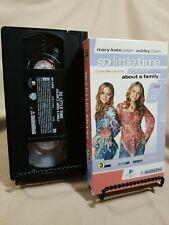 Mary-Kate & Ashley Olsen So Little Time Volume 3 VHS Tape RARE Slip Sleeve