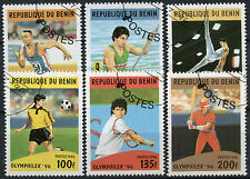 Benin 1996 Sg#1400-1405 Olympic Games Cto Used Set #A96259