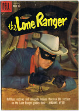 THE LONE RANGER 128 Dell Comics 1959 Cowboy Western Old West TV Photo Cover