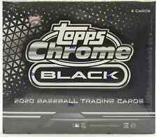 2020 TOPPS CHROME BLACK BASEBALL HOBBY BOX BRAND NEW SEALED FREE PRIORITY SHIP