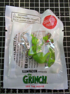 The Grinch movie promo key chain ring charm Illumination animation Cumberbatch