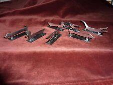 7 portes couteaux art déco inox poli Yorel France