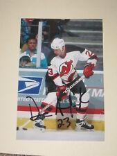 New Jersey Devils DAVE ANDREYCHUK Signed 4x6 Photo NHL HOF AUTOGRAPH