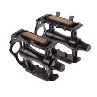"""1 Pair BMX MTB Aluminium Alloy Outdoor Mountain Bicycle 9/16"""" Pedals Flat Kit"""