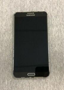 *READ-Samsung Galaxy Note 3 N900P N900V LCD Digitizer Frame Screen- BLACK
