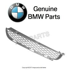 For BMW E53 X5 04-06 Front Driver Left Upper Bumper Cover Grille Titanium Look