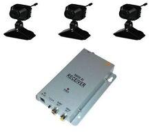 811D-K3 3x Mini Farb Funk Kamera mit Bild und Ton und Empfänger #31452a