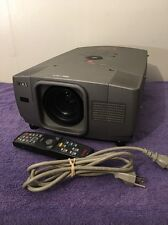 Eiki LC-XG110 Digital Multimedia LCD Projector with Lamp Power Cable Remote