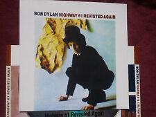 BOB DYLAN Highway 61 revisited AGAIN-rare 1965 trax- original silver 1992 cd