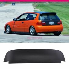 Fits 92-95 Honda Civic Spoon Style 3Dr Roof Spoiler Painted Matte Black ABS