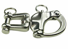Patent Hook Stainless Steel, 9 cm, Panic Snap, Dog Sled, Sled Dogs, Dog