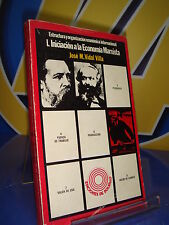 Book structure and organization economic I.INITIATION TO THE ECONIOMIA MARXIST