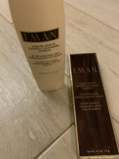 IMAN Liquid Assets Gentle Cleansing Lotion 4 oz Skin Cleanser Face Vitamin E NEW