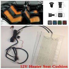 Car Seat Heater Kit Carbon Fiber Universal Heated Seat Cushion Warmer 3 Level