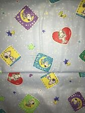 """Snoopy Peanuts Blue FABRIC - 3.5 yds - 44""""wide - #55"""