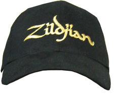 ZILDJIAN DRUMNERS CAP HATS BLACK AUTHENTIC GEAR PERCUSSION ACCESSORIES PRO NEW