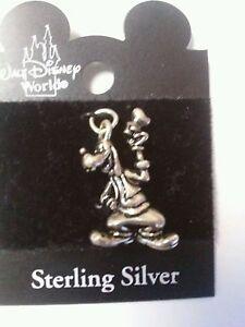 Disney Goofy  Sterling Silver charm  vintage NOC