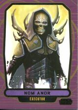 Star Wars Galactic Files Series 2 Gold Parallel [10] Base Card #551 Nom Anor