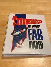 Pro Set Thunderbirds Official FAB Binder Complete Card Set Rare