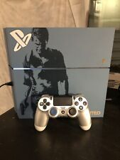 PS4 Console Blue Uncharted 4 LE 500GB