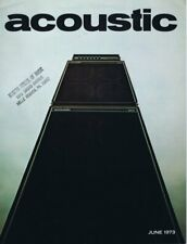 ORIGINAL Vintage June 1973 Acoustic Amps Catalog