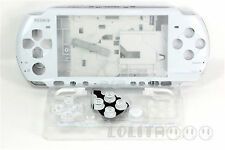 White Housing Faceplate Case Cover for PSP 3000 Slim