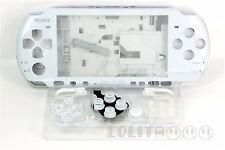 White Housing Faceplate Case Cover for PSP 3000 Slim