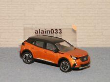Peugeot 2008 Orange 2020 NOREV 3 inches 1 64