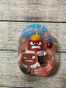 Disney's INSIDE OUT - ANGER Toy Doll Figure Movie TV Character TOMY Toys LOOSE