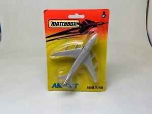 MATCHBOX-AIRPORT-BOEING 747-400-BRITISH AIRWAYS--SEALED ON CARD--1993