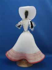 Murano Glass Black Face Tall Dancing Lady