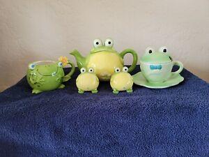 Frog Teapot Set