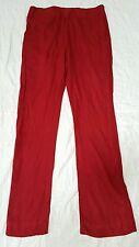 100% Cotton Plain Solid Red Maroon Pakistani Indian Salwar Pants  USA Seller