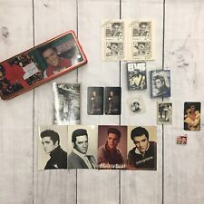 Elvis Collectibles Vintage 1977 pocket calendars bicycle cards postcard button