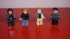 Lot de 4 minifigs/figurines LEGO Marvel Super Heroes, état comme neuves