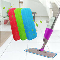 Spray Wet Mop Pads Replacement Refill Microfibre Microfiber Cleaning Cloth US