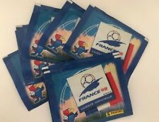 FIFA WORLD CUP PANINI FRANCE 1998 2x PACKETs WITH STICKERS