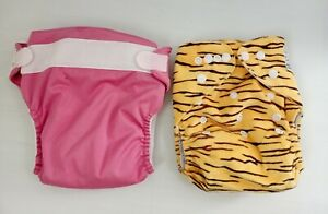 Modern Cloth Nappies X 2 Bum Genius And Cutie Bum Large